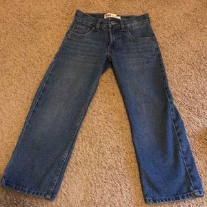 Boys size 6 Regular Levi's Red Tag Jeans